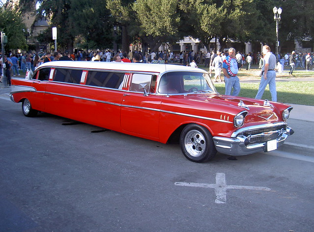 1957 Chevy stretch limo