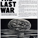 1960s Advertising - Magazine Ad - The Last War (USA)