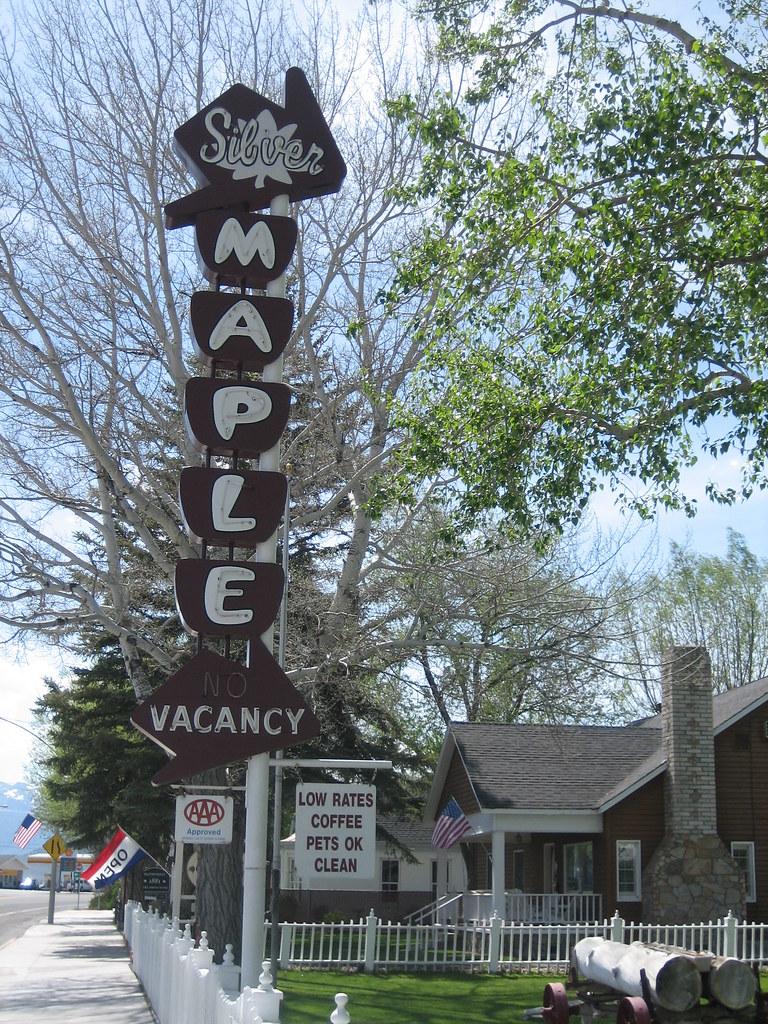 Silver Maple Inn - Bridgeport, California U.S.A. - May 28, 2007