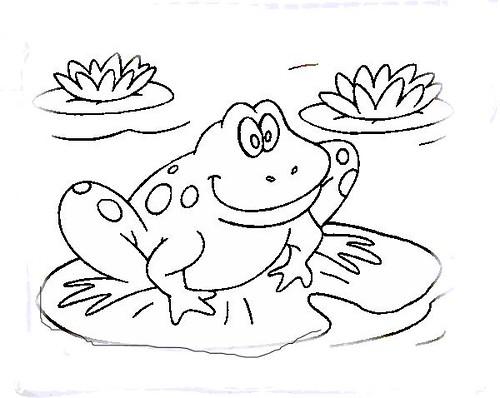 O żabce Piszczatce