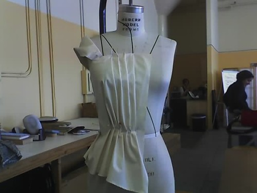 Draping: One piece of fabric