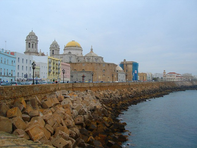 Cádiz, the waterfront