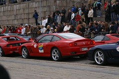 race car, automobile, vehicle, performance car, automotive design, ferrari 550, ferrari 575m maranello, race track, land vehicle, luxury vehicle, supercar, sports car,