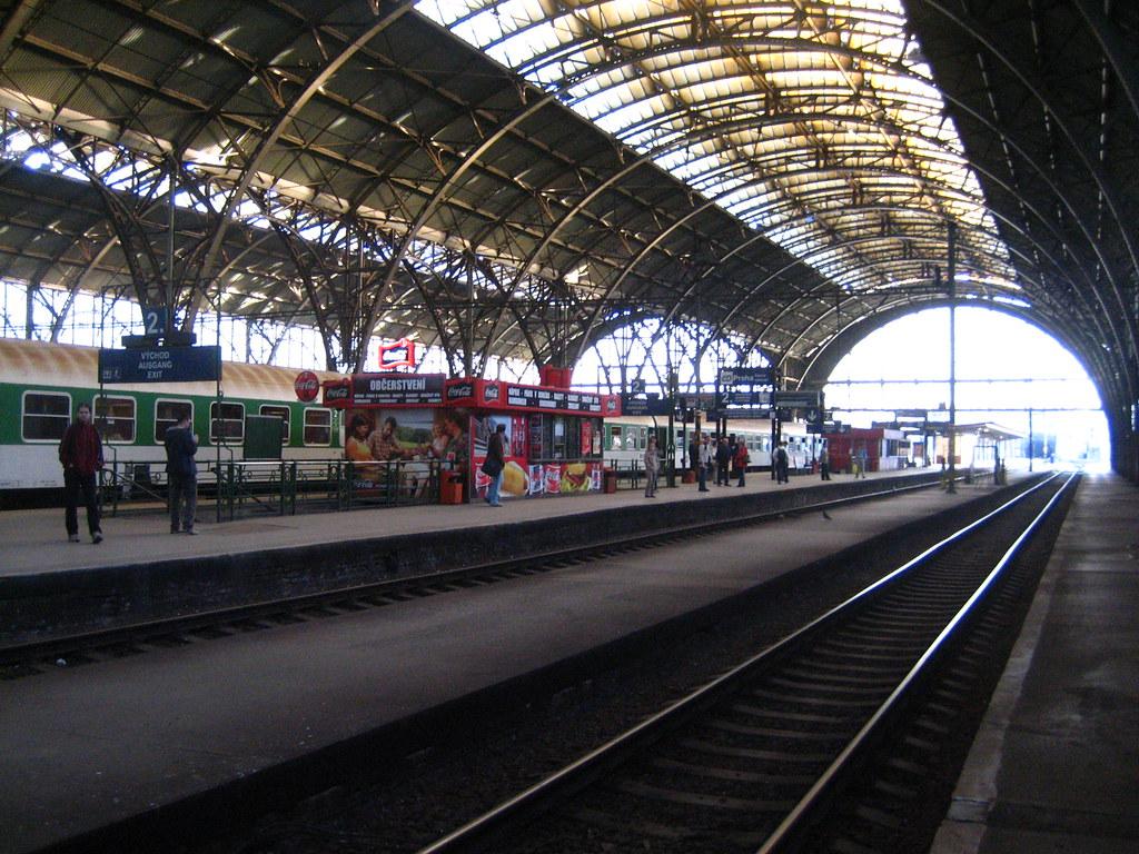 Prague central station prague attractions for Central prague