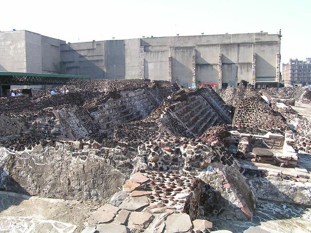 Great Pyramid of Tenochtitlan (Templo Mayor)   Flickr ...