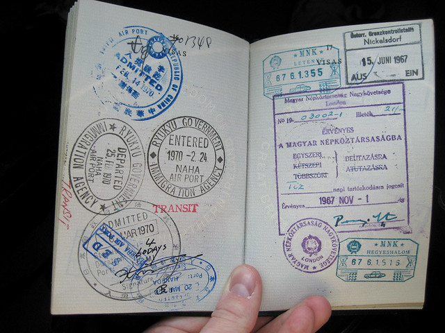 gordon's passport