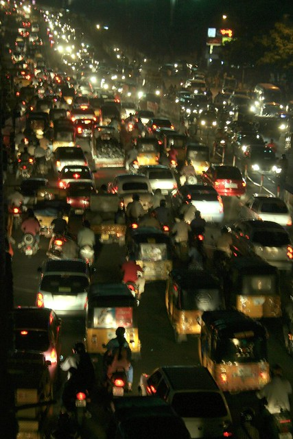 When Traffic is Smooth in INDIA!