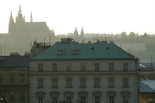 Vinohrady View of Prague Castle - Prague, Czech Republic