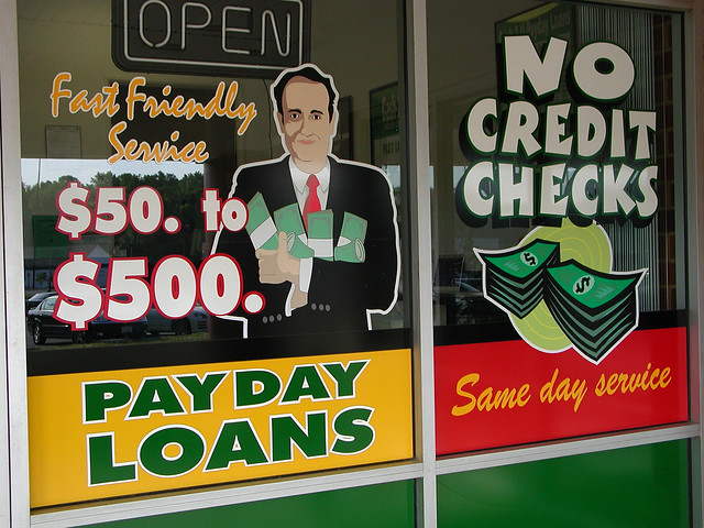 Financial Institutions ans Payday Loans