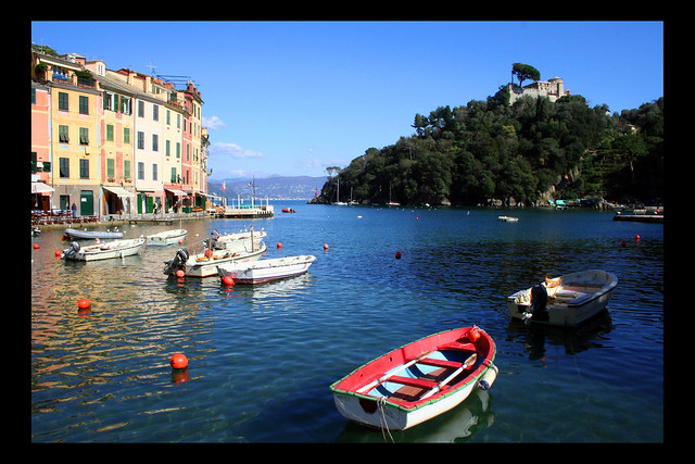 View from Portofino