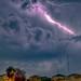 Lightning Storm in San Antonio by Angel Marquez