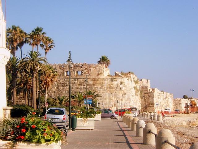St. John's castle (Neratzia) by day