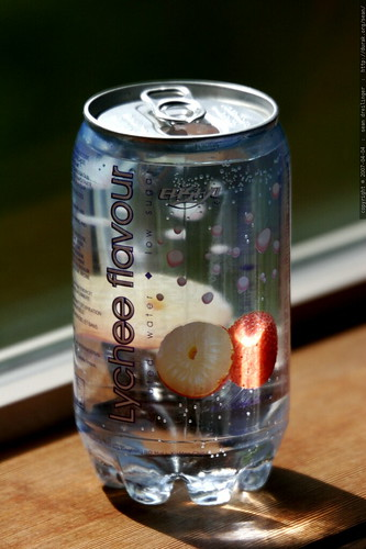 Photo See Through Soda Can Arome Lychee Mg 2959 By