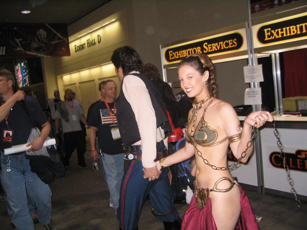 If Youve Got A Slave Leia, Keep Her On A Short Leash - A -1132