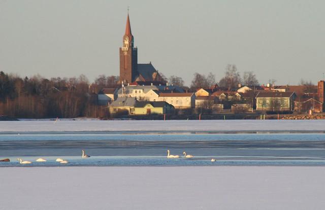 Fotos de Finlandia central en primavera