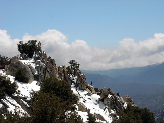 Rocks in the Snow