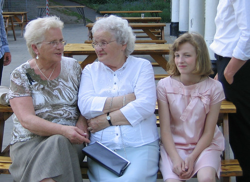Harriet with her Granny and Great Aunt