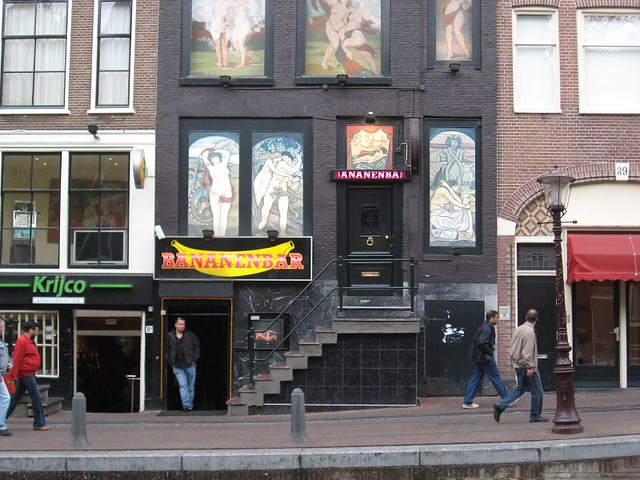 Amsterdam Banana Bar http://www.flickr.com/photos/jeremyjohnsonphoto/488815366/