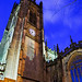 Manchester Cathedral at Night - 2
