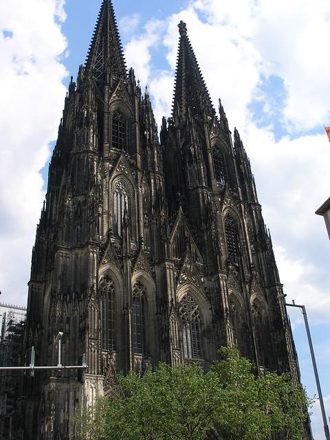 Köln Cathedral--facade
