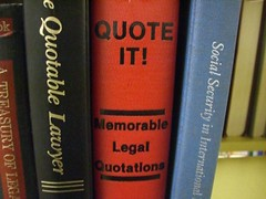 Book of quotations, QUOTE IT Memorable Legal Quotations Quotable Lawye…