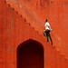 Red stairs( Jantar Mantar)