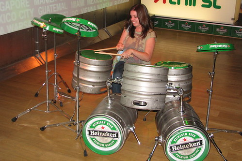 Jasmine on Percussion