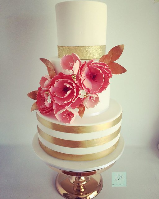 Wedding Cake by Priscilla's Cakes