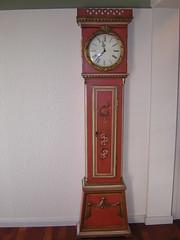 furniture, wood, longcase clock, clock,