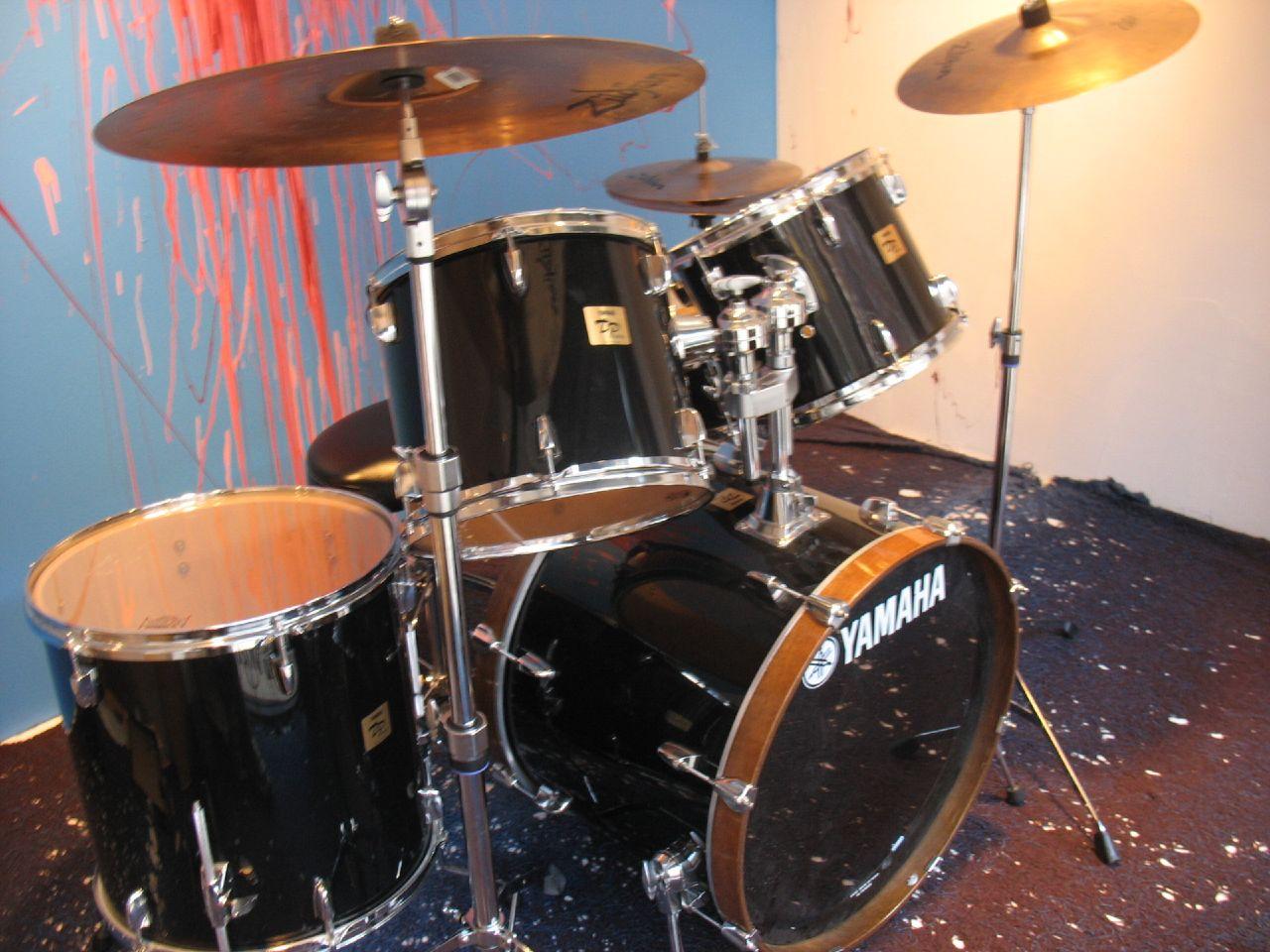 Yamaha Remo Drum Set