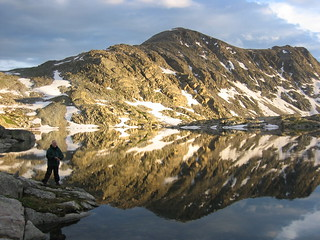 My Father fishing for what..? 12,000 ft.