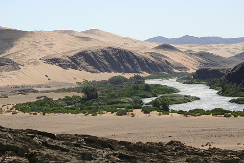 Serra Cafema Camp, Kunene River, Northern Namibia, 2004
