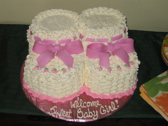 Baby Booties Cake Flickr - Photo Sharing!
