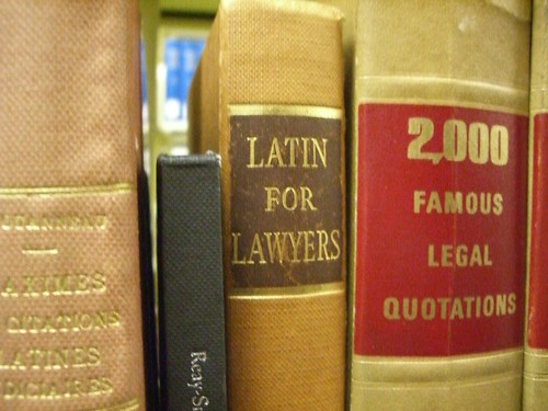 'Latin for Lawyers; 2000 Famous Legal Quotations' by umjanedoan