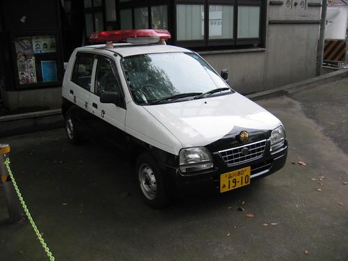 Kei Cop Car
