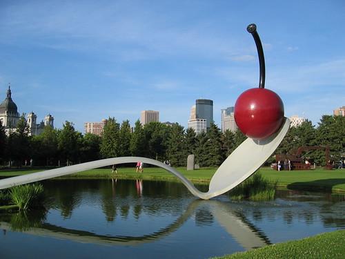 Travelogue Of An Armchair Traveller Spoonbridge And Cherry Minneapolis Sculpture Garden