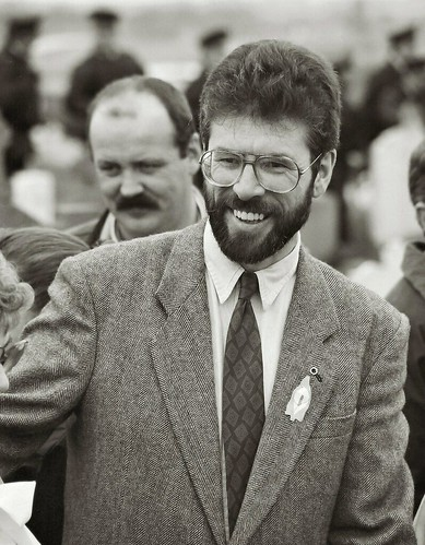 Gerry  Adams Easter 1993