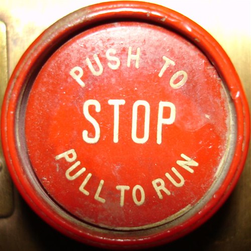 Elevator Stop Button November 12 2004 From The