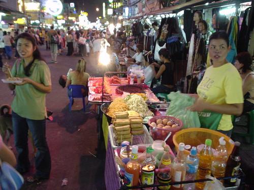 Khao San street vendor