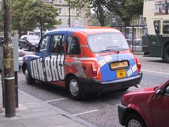 IRN-BRU taxicab