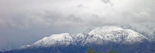 Mt San Jacinto With Heavy Snow