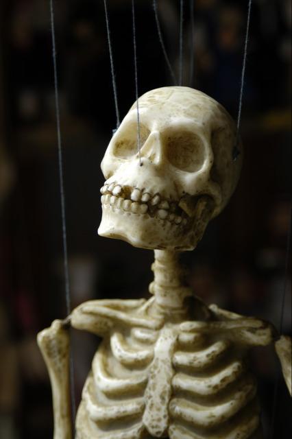 Suspended Skeleton