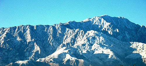 Mt San Jacinto Post Storm