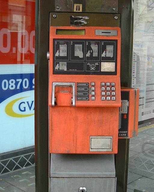 Derelict payphone #1