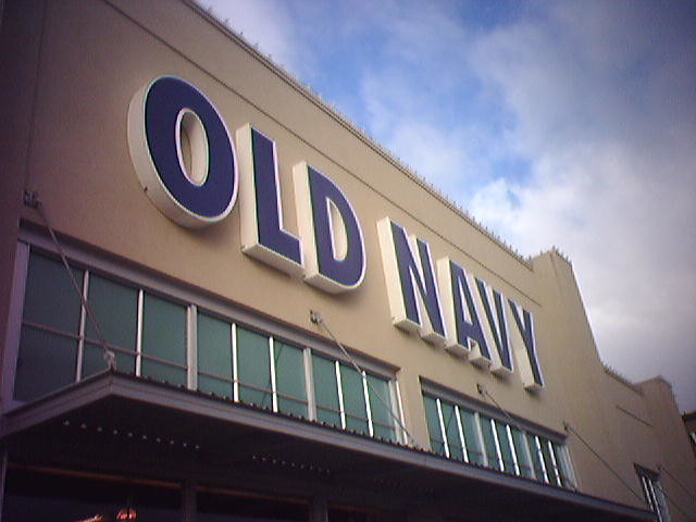 Old Navy Discounted Shoes At Store