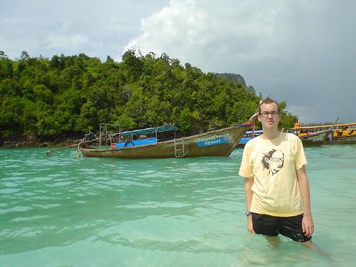Jody on Tup Island
