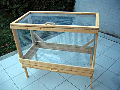 Diy rabbit hutch plans free pdf plans free for How to build a rabbit hutch plans free