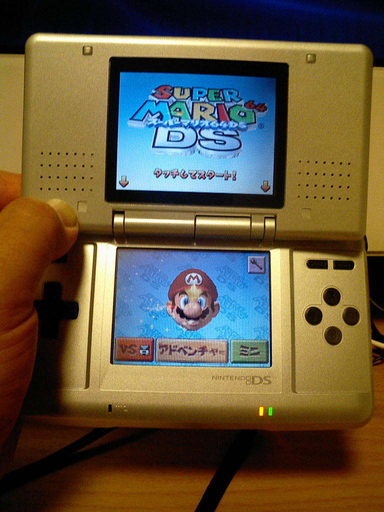 Nintendo DS and Super Mario DS