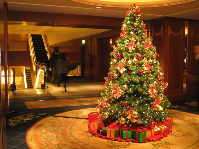 ウェスティンホテルのクリスマスツリー / Christmas Tree at the Westin Tokyo