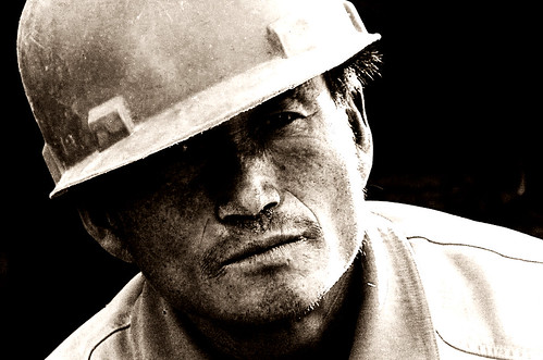 Construction Worker Potrait